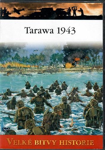 Velké bitvy historie 53 - Tarawa 1943 - slim DVD