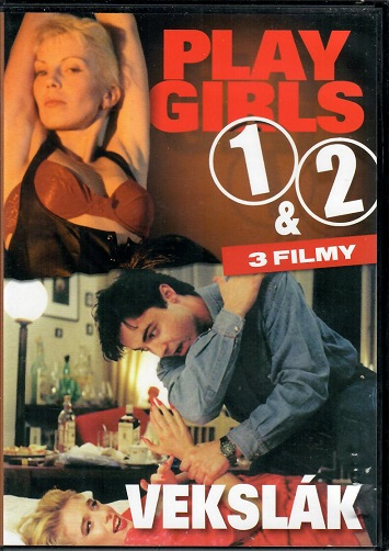 3 filmy - Play girls 1& 2 a Vekslák ( plast ) - DVD
