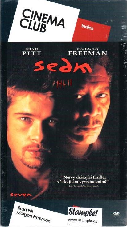 Sedm - DVD digipack - Cinema Club