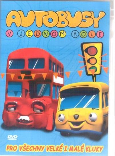 Autobusy v jednom kole - DVD plast