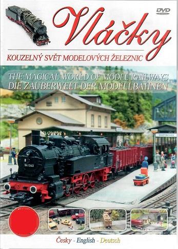 Vláčky: Kouzelný svět modelových železnic - Plast DVD