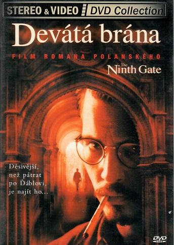 Devátá brána ( plast ) - DVD