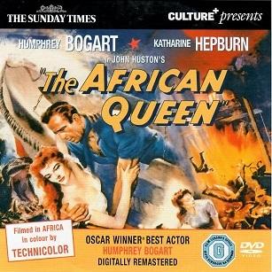The African queen/ Africká Královna ( původní znění BEZ CZ titulků ) - DVD