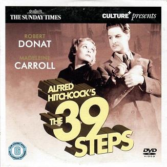 The 39 Steps ( originální znění BEZ CZ titulků ) - DVD