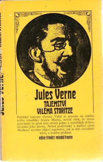 Tajemství Viléma Storitze  - Jules Verne - bazarové zboží