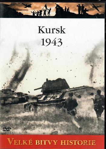 Velké bitvy historie 12 - Kursk 1943 - slim DVD