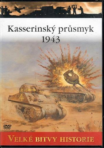 Velké bitvy historie 42 - Kasserinský průsmyk 1943 - slim DVD
