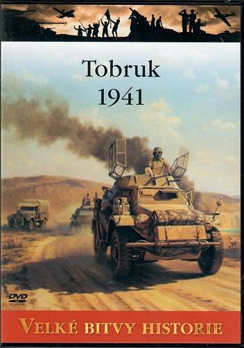 Velké bitvy historie 17 - Tobruk 1941 - slim DVD