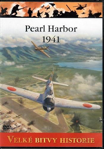 Velké bitvy historie 2 - Pearl Harbor 1941 - slim DVD