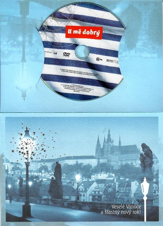 U mě dobrý ( Dárkový papír obal ) - DVD