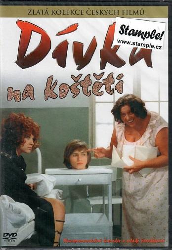 Dívka na koštěti ( slim/plast ) - DVD
