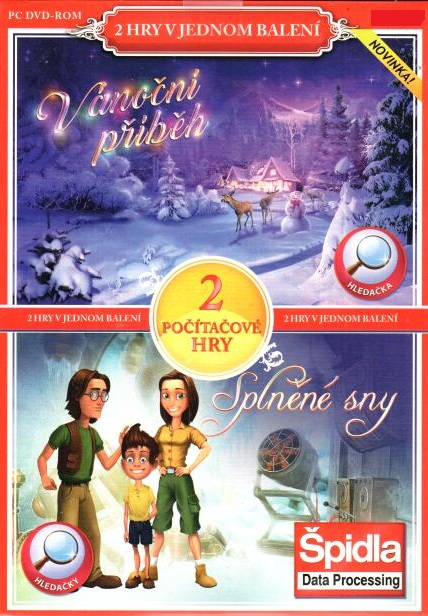 PC hra Vánoční příběh / Splněné sny - pošetka