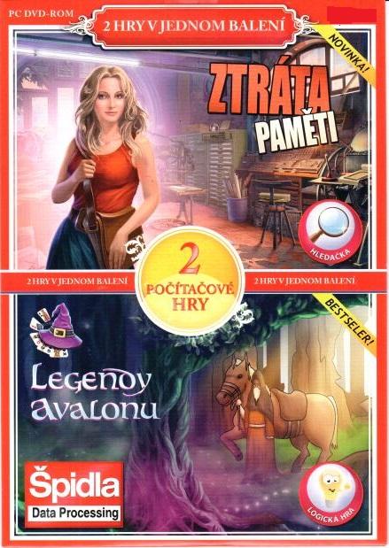 PC hra Ztráta pamětí / Legendy Avalonu - pošetka