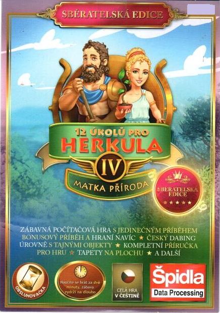 PC hra 12 úkolů pro Herkula IV - matka příroda - pošetka