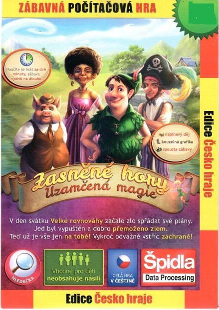 PC hra Zasněné hory:Uzamčená magie - papírová pošetka