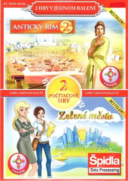 PC hra Antický Řím 2 / Zelené město - pošetka