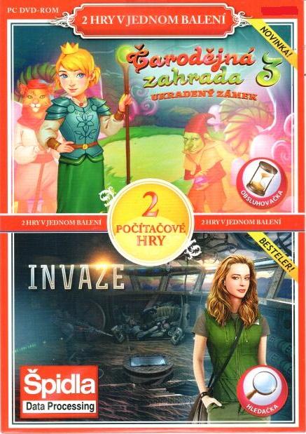PC hra Čarodějná zahrada 3 / Invaze - pošetka