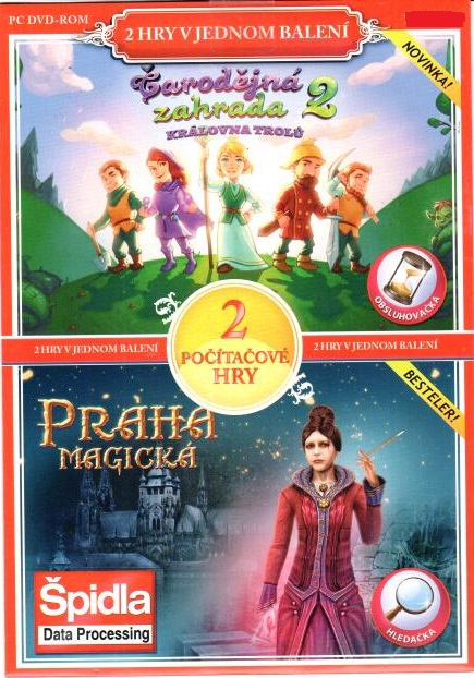 PC hra Čarodějná zahrada 2 / Praha magická - pošetka