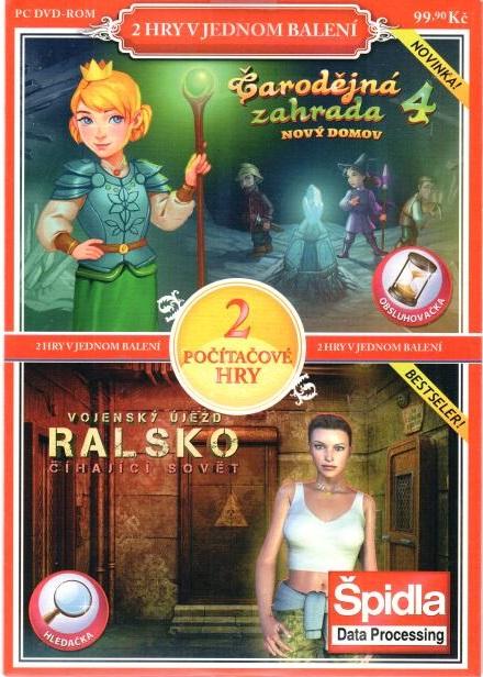 PC hra Čarodějná zahrada 4 / Vojenský újezd Ralsko: číhající sovět - pošetka