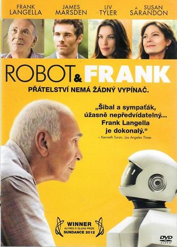 Robot a Frank - plast DVD