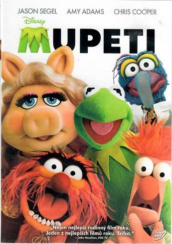 Mupeti - plast DVD