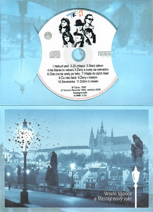 Team 3 ( dárkový papír obal ) - CD