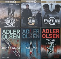 Knižní kolekce Jussi Adler Olsen + 3DVD