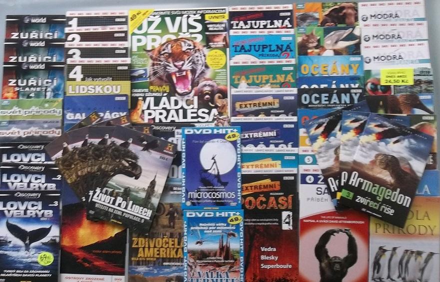 Velká kolekce Příroda - časopis+50DVD
