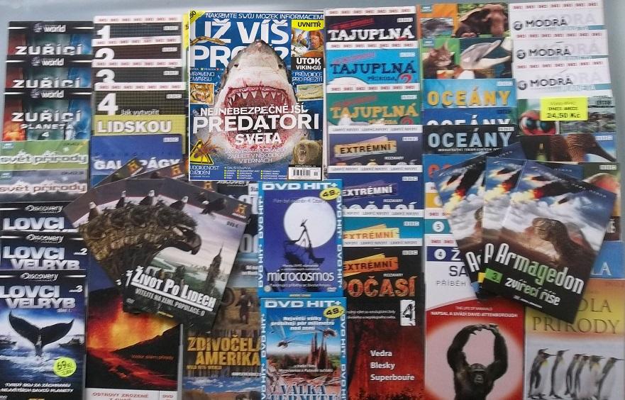 Velká kolekce Příroda - časopis+zdarma 59 DVD