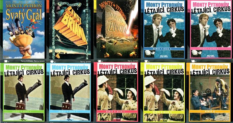 Kolekce Monty Pythonův létající cirkus  10 DVD