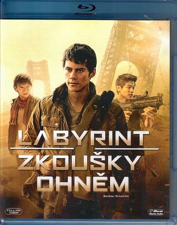 Labyrint: Zkoušky ohněm - Blu-ray