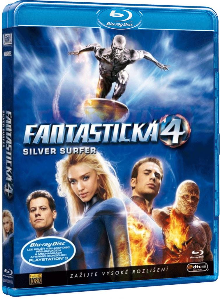 Fantastic 4 / Fantastická čtyřka a silver surfer - Blu-ray