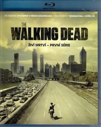 The walking dead - Živí mrtví, první série ( Blu-ray )