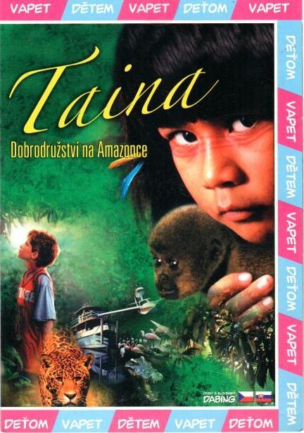 Taina - dobrodružství na Amazonce - DVD pošetka