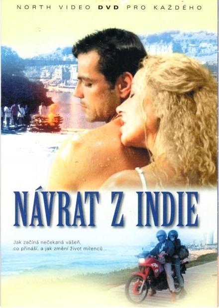 Návrat z Indie - DVD pošetka