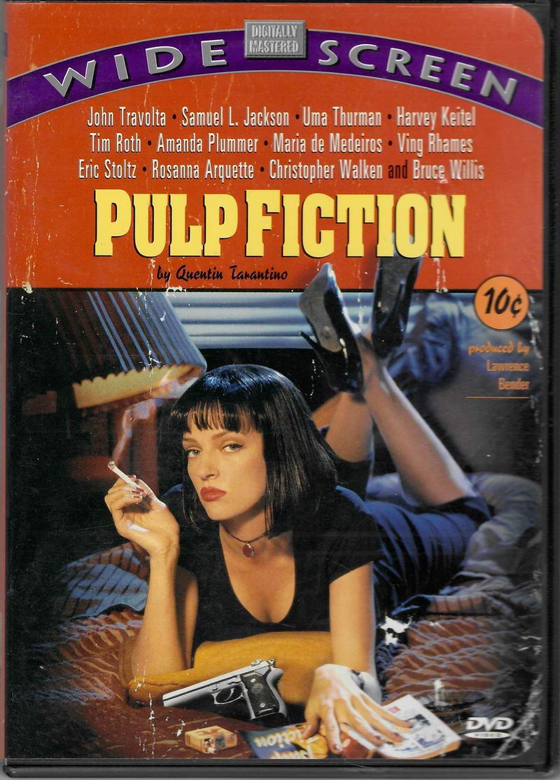 Pulp Fiction: Historky z podsvětí -(  BEZ CZ titulků ) - plast DVD