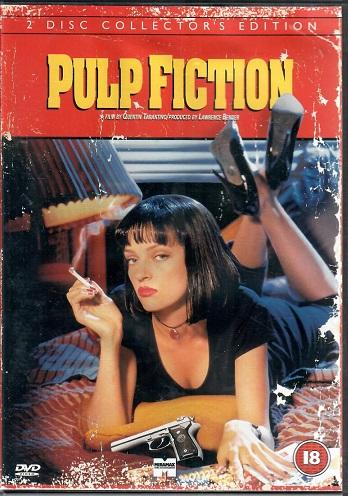 Pulp Fiction: Historky z podsvětí 2 DVD ( originální znění BEZ CZ titulků ) - plast DVD