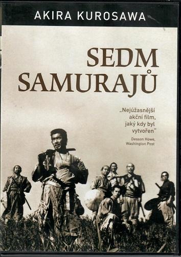 Sedm samurajů ( originální znění s CZ titulky ) - plast DVD