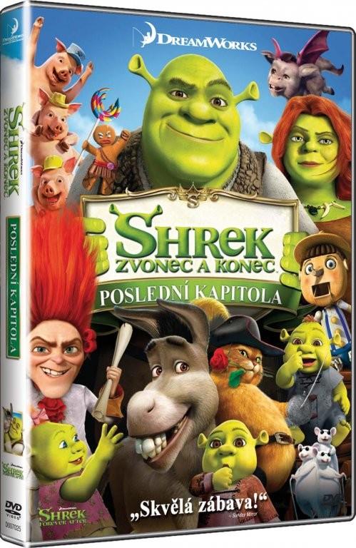 Shrek: Zvonec a konec - poslední kapitola DVD