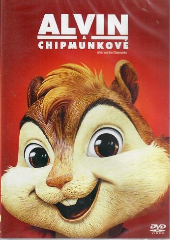 Alvin a Chipmunkové - plast DVD
