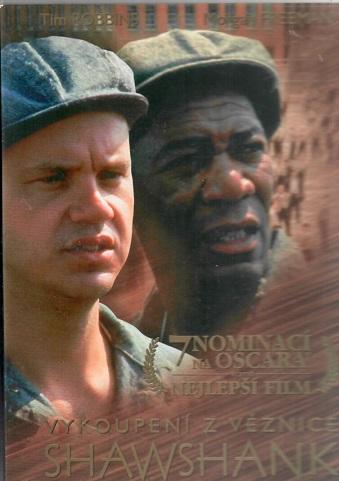 Vykoupení z věznice Shawshank ( plast ) - DVD