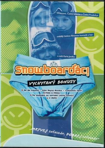 Snowboarďáci - slim/plast DVD