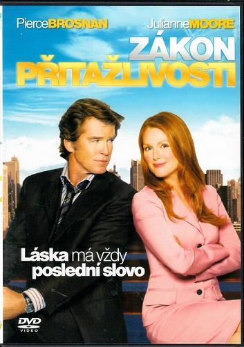 Zákon přitažlivosti - slim/plast  DVD