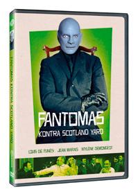 Fantomas kontra Scotland Yard - plast DVD