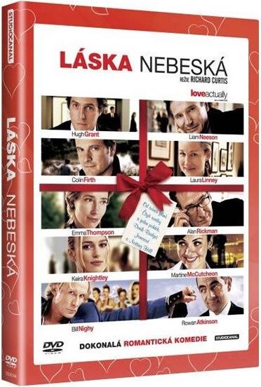 Láska nebeská - plast DVD