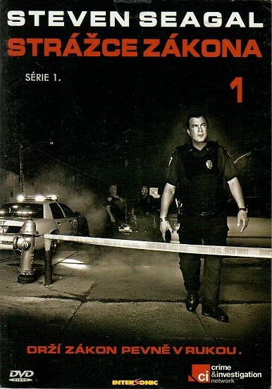 Steven Seagal - Strážce zákona 1, 1.série - DVD