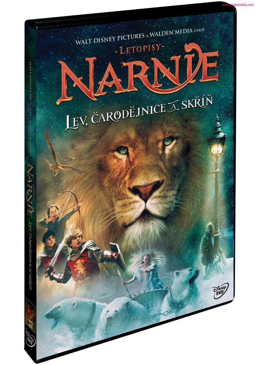 Letopisy Narnie: Lev, čarodějnice a skříň - plast DVD