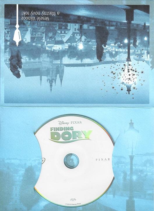 Hledá se Dory ( dárkový papír obal ) - bazarové zboží DVD