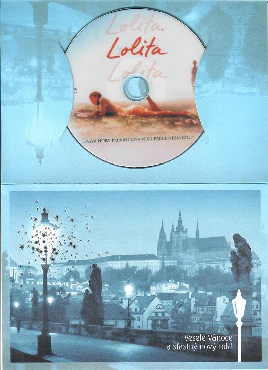Lolita ( dárkový papír obal ) - DVD