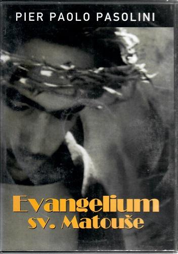 Evangelium sv. Matouše  ( původní znění s českými titulky ) - bazarové zboží DVD